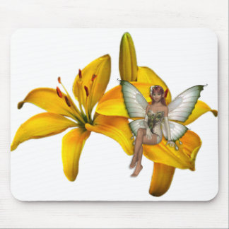 KRW Flower Faery 3 Mouse Pad