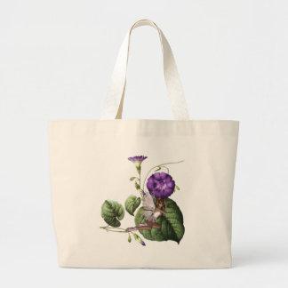 KRW Flower Faery 5 Large Tote Bag