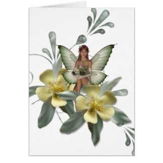 KRW Flower Faery 7 Card