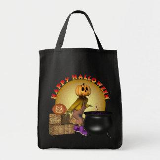 KRW Fun Happy Halloween Trick or Treat Tote Bag