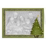 KRW Fun Lil Christmas Tree Custom Photo Card