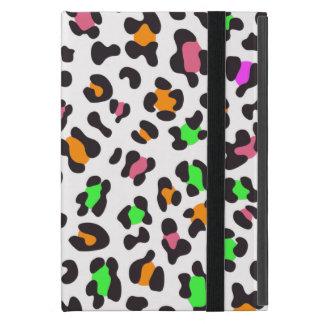KRW Fun Neon Leopard Spots iPad Mini Case