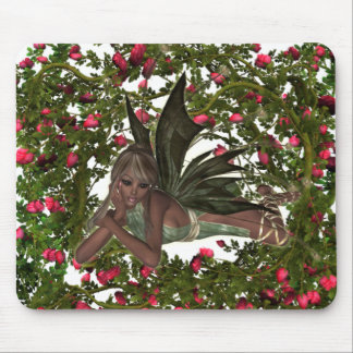 KRW Garden Faery - African American Mouse Pad