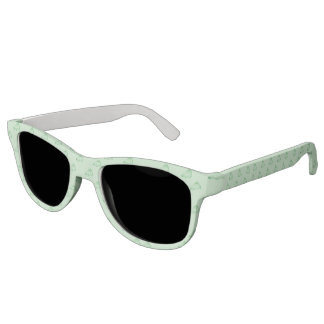 KRW Green Cheerleader Party Sunglasses