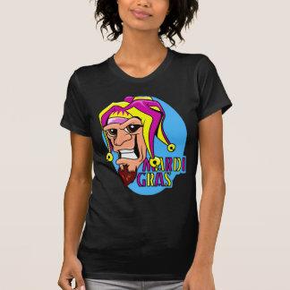KRW Grinning Mardi Gras Jester T-Shirt