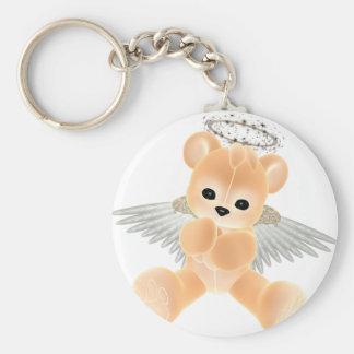 KRW Guardian Angel Bear Keychain