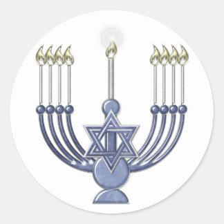 KRW Hanukkah Menorah Seal