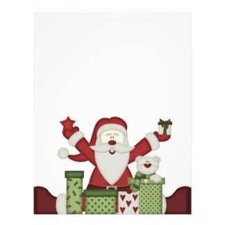 KRW Happy Santa Holiday Letterhead