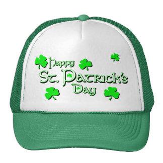 KRW Happy St Patrick's Day Trucker Hat