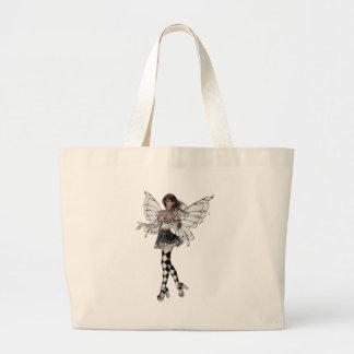 KRW Harlequin Faery Jumbo Tote Bag