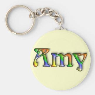 KRW Hippie Groove Name Keychain - Amy