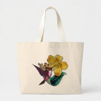 KRW Hummingbird Faery Canvas Bag