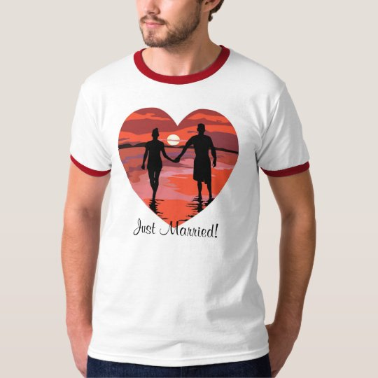 KRW Just Married Wedding Shirt