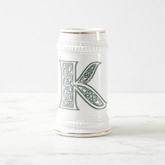 KRW - K - Celtic Monogrammed Stein