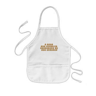 KRW Kid's Gingerbread Christmas Apron