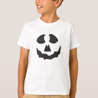 KRW Kid's Jack O' Lantern Face Halloween Shirt