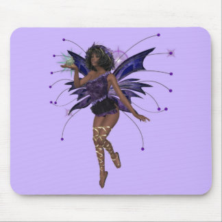 KRW Kiss the Frog African American Faery Mousepad