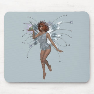 KRW Kiss the Frog Red Head Faery Mousepad