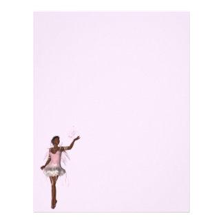 KRW Lana African American Fairy Fantasy Letterhead