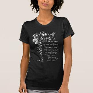 KRW Love is Patient Corinthians Bible Quote Tshirt