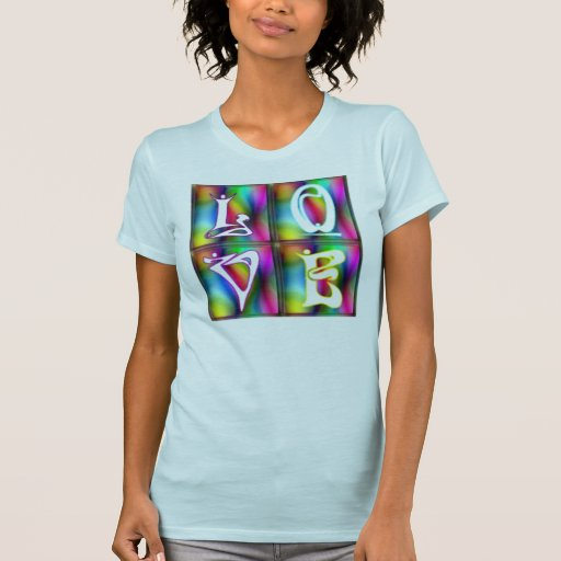 KRW Love Psychedelic Shirt