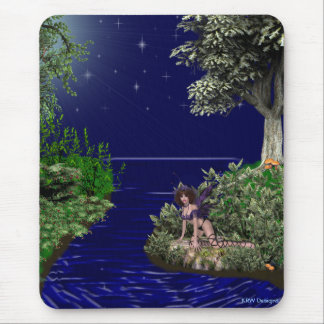 KRW Moonlit Faery Mouse Pad