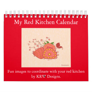 KRW My Red Kitchen Calendar