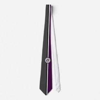 KRW - O - Monogrammed Tie