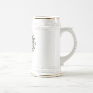 KRW - P - Celtic Monogrammed Stein Coffee Mug