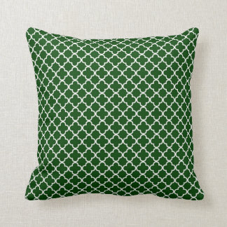 KRW Park Avenue Emerald Green Reversible Pillow