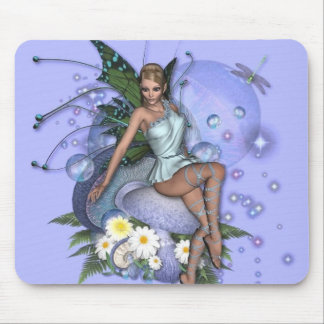 KRW Picking Daisies Faery Mouse Pad
