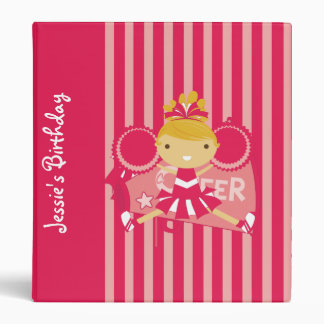 KRW Pink Cheerleader Birthday Album Binder **