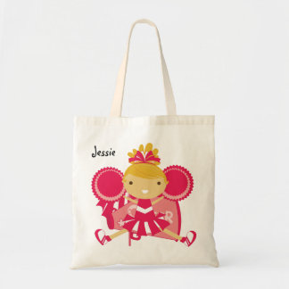 KRW Pink Cheerleader Custom Party Tote Bag