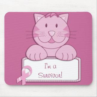 KRW Pink Ribbon survivor Mouse Pad
