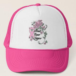 KRW Pink Ribbon Survivor Trucker Hat