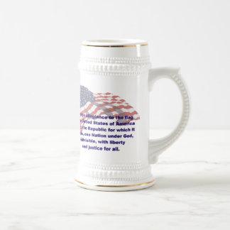 KRW Pledge of Allegiance Stein