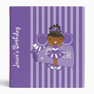 KRW Purple Cheerleader Birthday Album Binder **