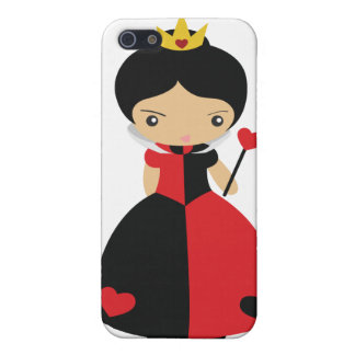 KRW Queen of Hearts  iPhone 5/5S Cases