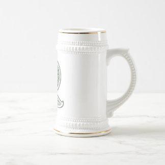 KRW - R - Celtic Monogrammed Stein Mug