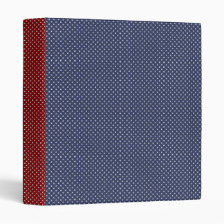 KRW Red, White and Blue American Stars Binder