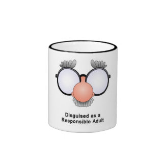 KRW Responsible Adult Ringer Coffee Mug