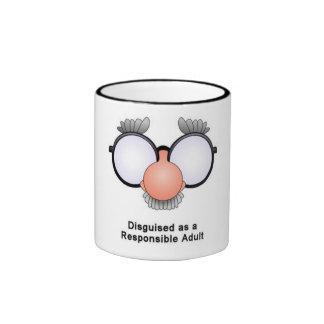 KRW Responsible Adult Ringer Mug