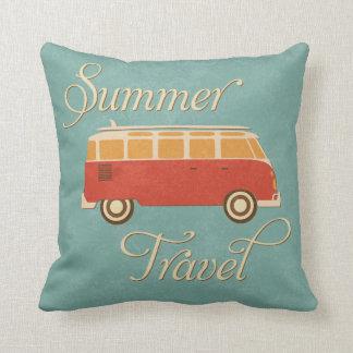 KRW Retro Camper Summer Travel Decor Pillow