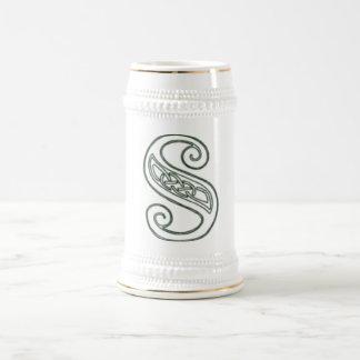 KRW - S - Celtic Monogrammed Stein Mug