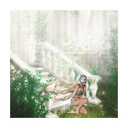 KRW Sacred Ground Fairy Fantasy Canvas Stretched Canvas Prints