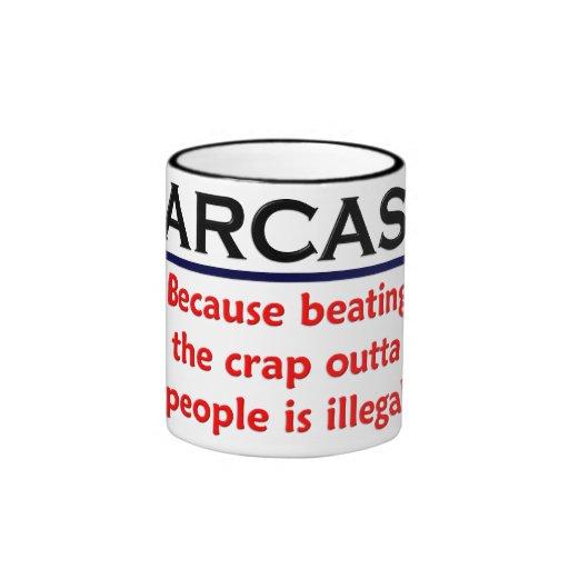 KRW Sarcasm Funny Joke Ringer Coffee Mug
