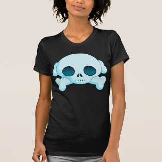 KRW Skull and Crossbones Blue T-Shirt