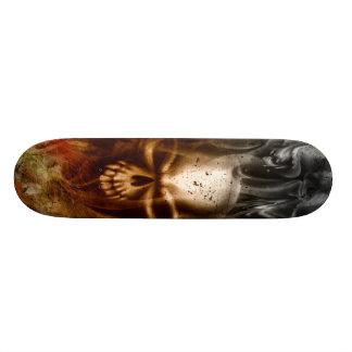 KRW Smoldering Skull Skate Boards