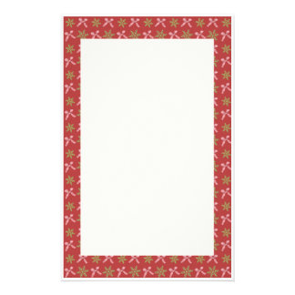 KRW Snowflakes and Bows Stationery
