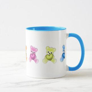 KRW Teddy Rainbow Mug